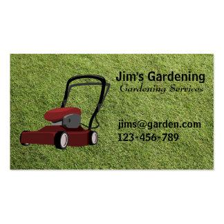 Serviços de jardinagem/de sega de /Landscape Cartoes De Visitas