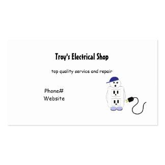 Serviços elétricos cartão de visita