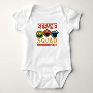 Sesame Street - pelotão do sésamo Body Para Bebê