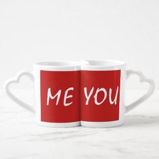 Set de taça de café - ME & YOU Conjunto De Caneca De Café