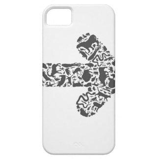Seta animal capa para iPhone 5