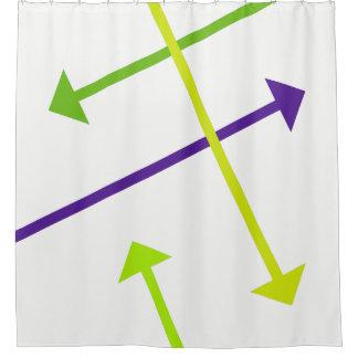 Seta da modificação cortina para chuveiro