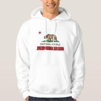 Seta do lago flag da república de Califórnia Moletom
