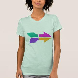 SETA nova: Atitude do compasso do sentido LOWPRICE T-shirts