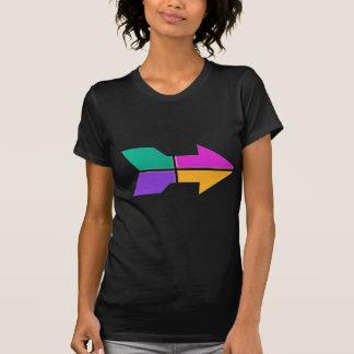 SETA nova: Atitude do compasso do sentido LOWPRICE Tshirts