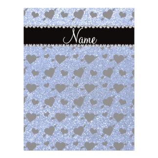 Setas azuis conhecidas feitas sob encomenda dos co panfletos personalizados