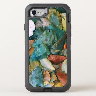 Setas vibrantes das cores capa para iPhone 8/7 OtterBox defender