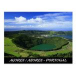 Sete Cidades - Açores Cartao Postal