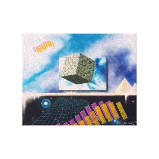 Sete dimensões impressão em tela