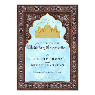 Sétimo céu - cartão do convite do casamento