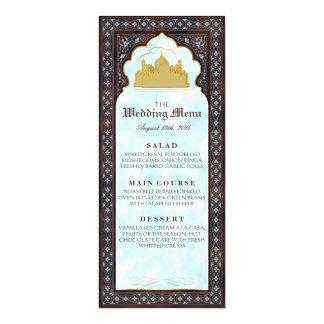 Sétimo céu - cartão do menu convite 10.16 x 23.49cm