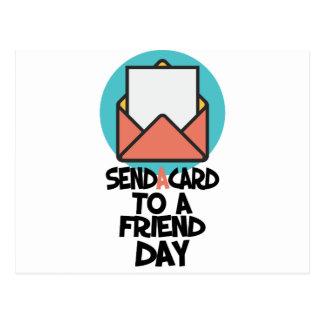 Sétimo fevereiro - envie um cartão a um dia do