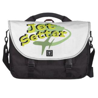 Setter do jato bolsa para laptop