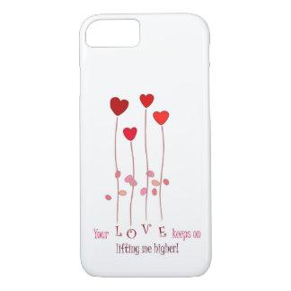 Seu amor mantem-se em levantar-me capas de iphone