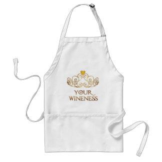Seu avental de Wineness