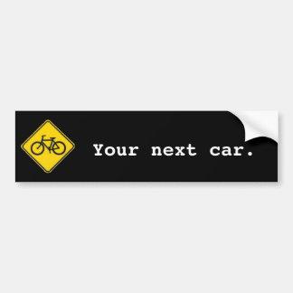 Seu carro seguinte adesivos