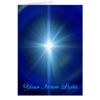 Seu cartão da luz interna