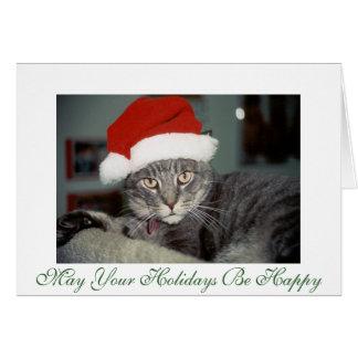 Seu cartão de Natal de Ernie