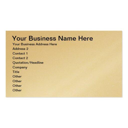 Seu cartão de visita