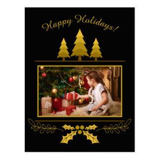 SEU cartão feito sob encomenda do Natal da FOTO