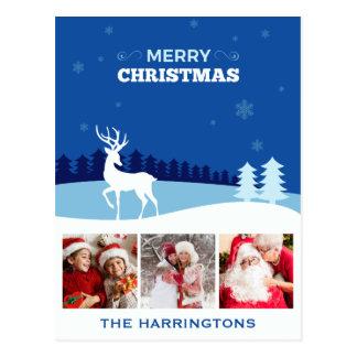 SEU cartão feito sob encomenda do Natal das FOTOS