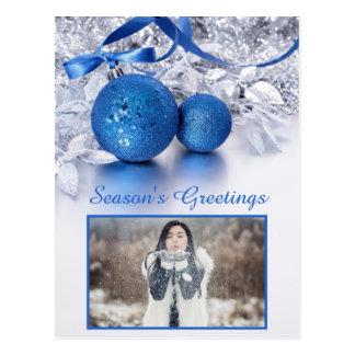 SEU cartão feito sob encomenda do Natal do texto