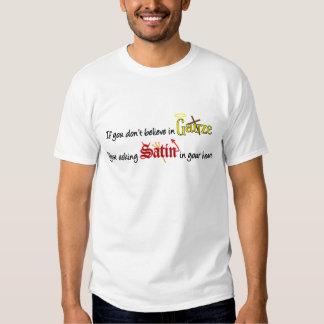 Seu cetim pedindo em seu coração t-shirt