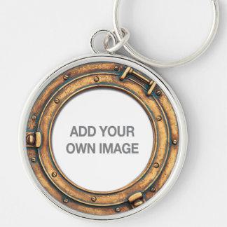 Seu chaveiro A da vigia da imagem