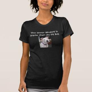 Seu estudante da honra é mais assustador do que camiseta