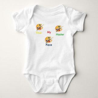 Seu meu bebê mestre T da parte Body Para Bebê