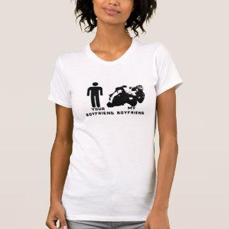 Seu namorado, meu namorado t-shirt