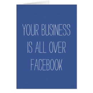 Seu negócio é por todo o lado no cartão de