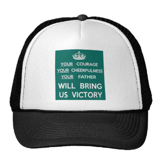 Seu pai trar-nos-á a vitória boné
