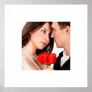 Seu poster do casamento da foto pôster