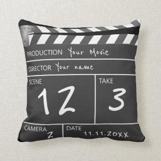 Seu próprio filme feito sob encomenda almofada