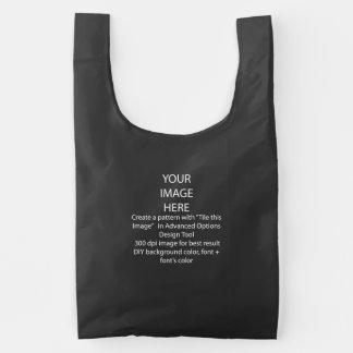 Seu saco reusável do costume BAGGU, preto