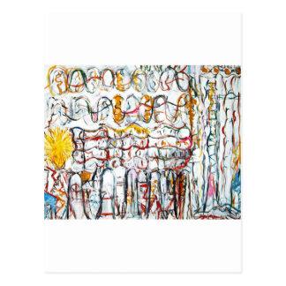 Seu segundo Sun (expressionism abstrato dos Cartão Postal