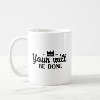 Seu será feito caneca de café