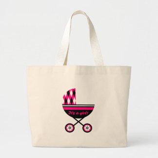 Seu um carrinho de criança da menina bolsas para compras