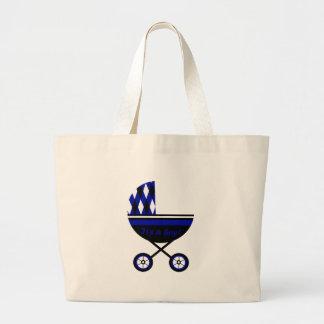Seu um carrinho de criança do menino bolsas de lona