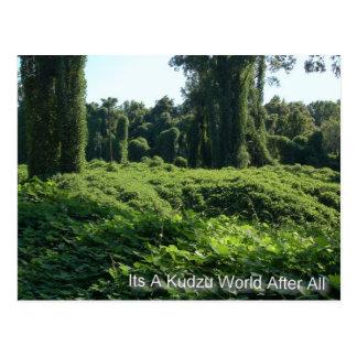 Seu um mundo de Kudzu afinal Cartão Postal