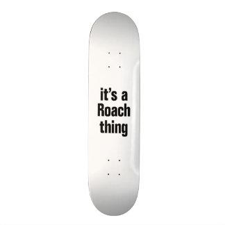 seu uma coisa da barata shape de skate 20,6cm
