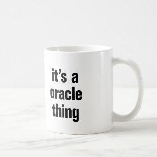 seu uma coisa do oracle caneca de café
