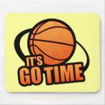 Seu vai o basquetebol Mousepad do tempo
