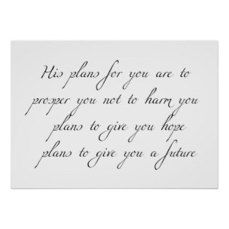 """""""Seus planos para você"""" poster mínimo gráfico"""