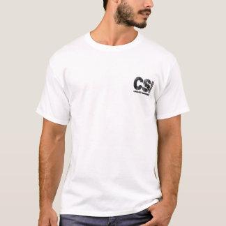 Seus sangue e entranhas CSI desautorizado Camiseta