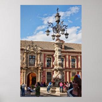 Sevilha, poster da espanha