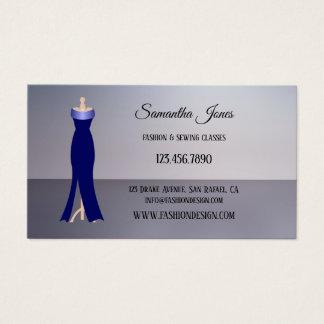 Sewing da forma ou cartão de visita do boutique