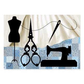 Sewing/forma/costureira - SRF Cartão De Visita Grande