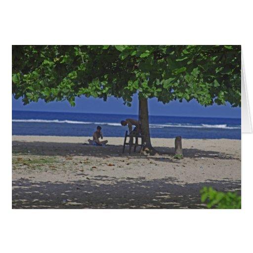 Sexiness de Bali Cartao